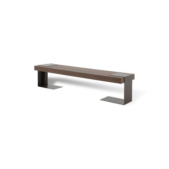 Sofá Table Minerva - 2,00 X 0,50 X 0,50 - Sucupira
